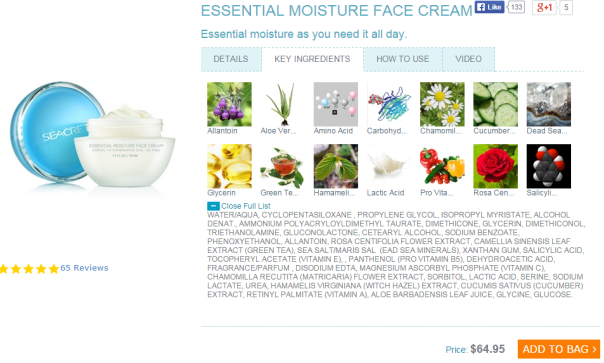 essential moisture